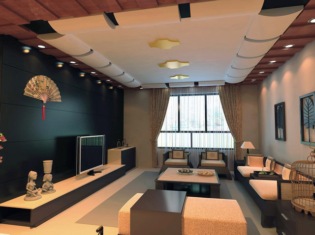 異形家裝吊頂效果圖_廣東省佛山市歐標托浦裝飾材料