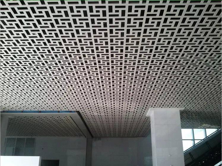 冲孔雕刻铝单板_弗岚思金属天花铝幕墙